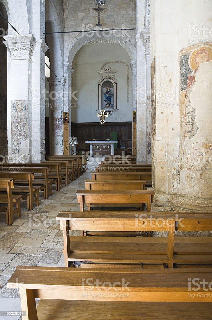 Church of St. Maria Maggiore. Monte Sant'Angelo. Puglia. Italy. royalty-free stock photo