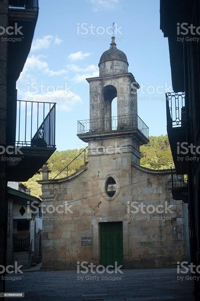 Church of St. Mary Magdalene, Ribadavia, Ourense, Galicia, Spain. stock photo