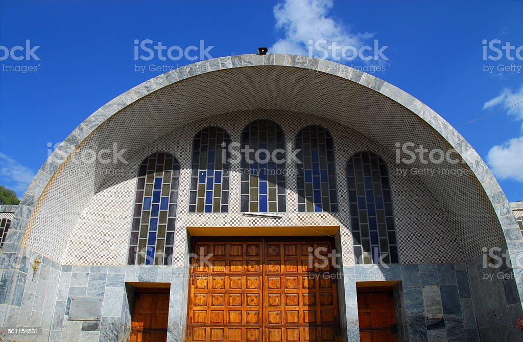 Church of St Mary of Zion, Axum, Ethiopia stock photo