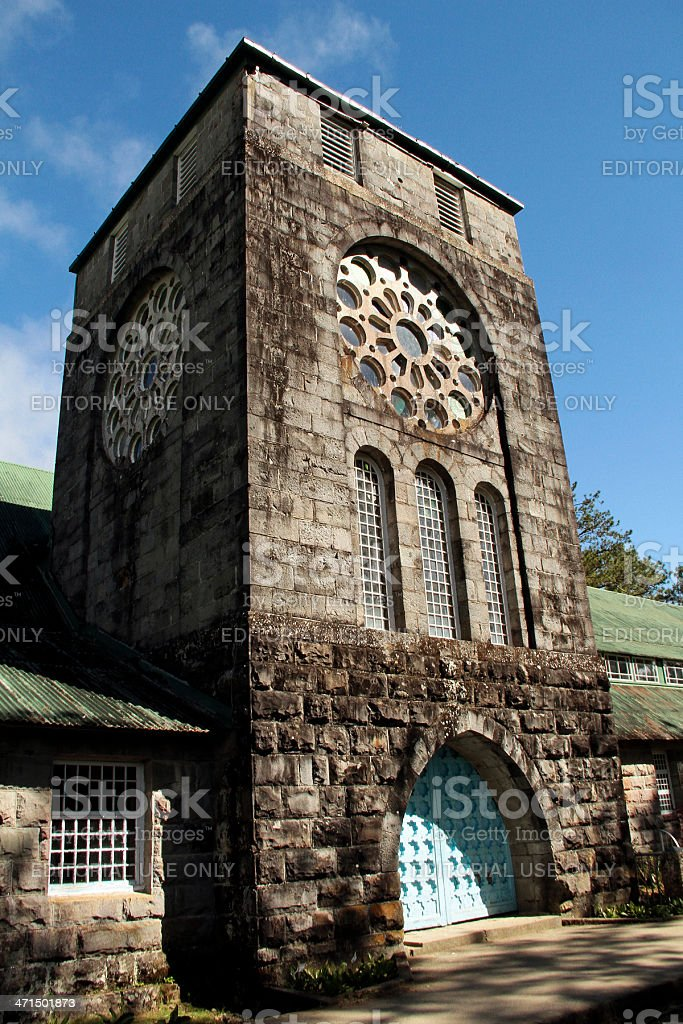 Church of St. Mary the Virgin royalty-free stock photo