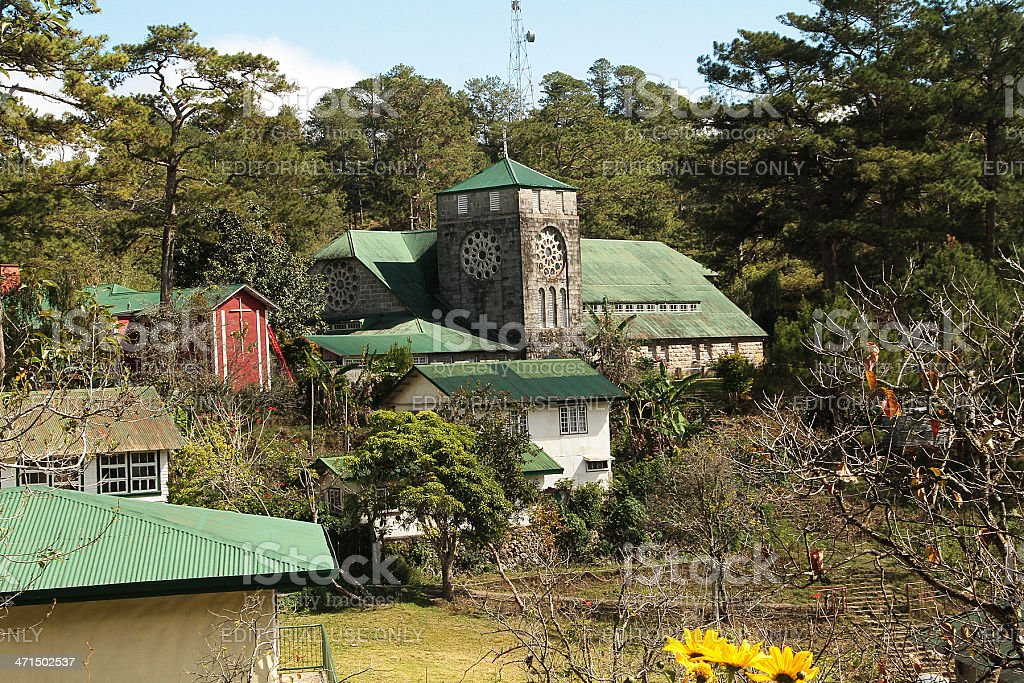 Church of St. Mary the Virgin, Sagada royalty-free stock photo