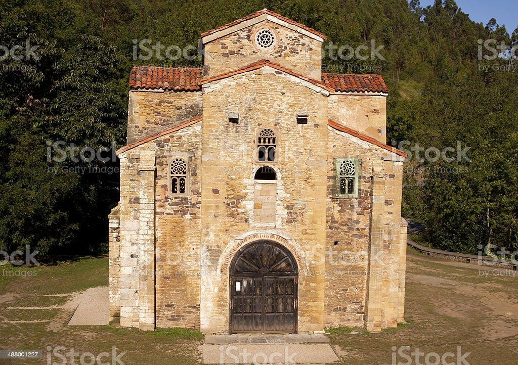 Church of St. Michael of Lillo stock photo
