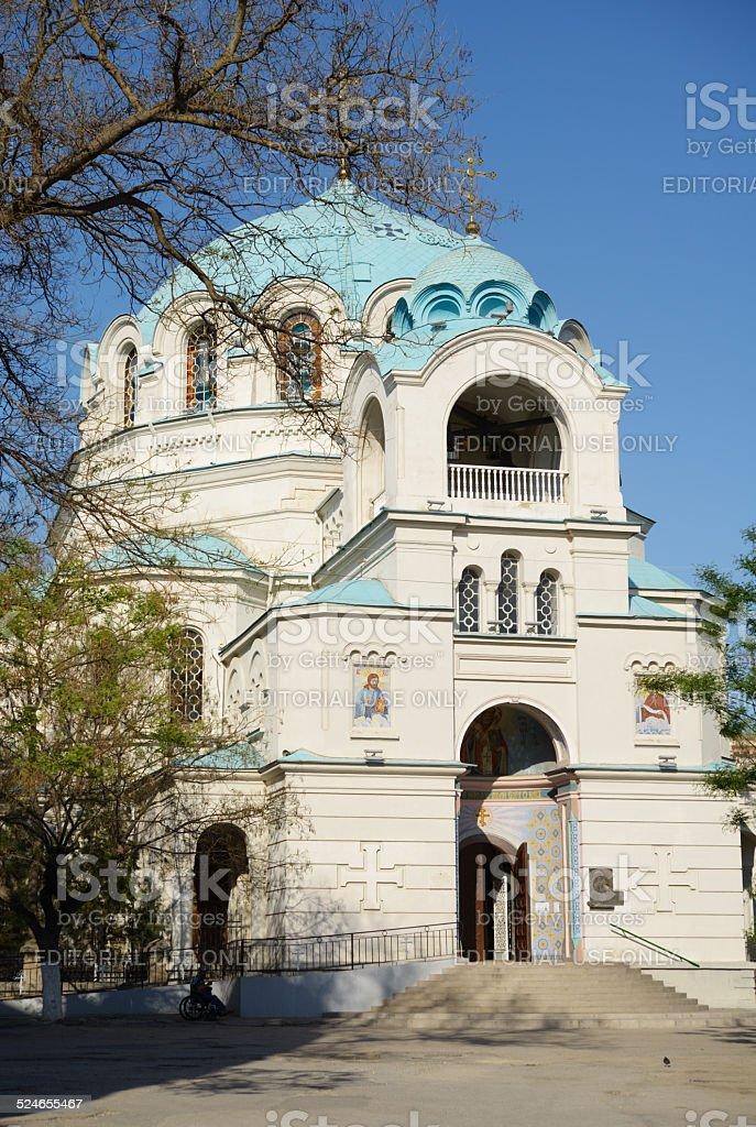 Church of St. Nicholas in Eupatoria, Ctimea stock photo