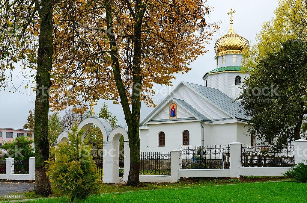 Church of St. Nicholas, Senno, Belarus stock photo