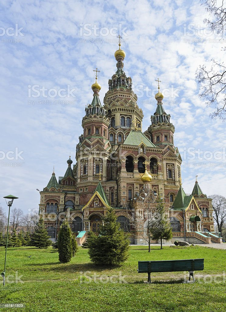 Church of St. Peter and Paul royalty-free stock photo