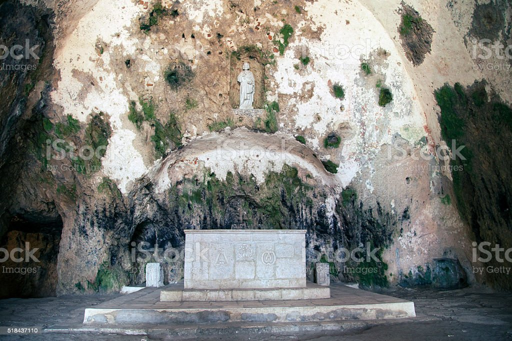 Church of St. Peter Antioch Turkey stock photo