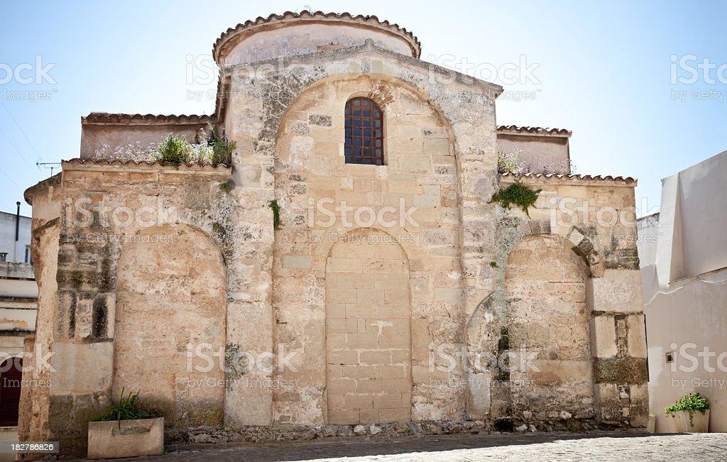 Church of St. Peter in Otranto (Lecce, Apulia - Italy) stock photo