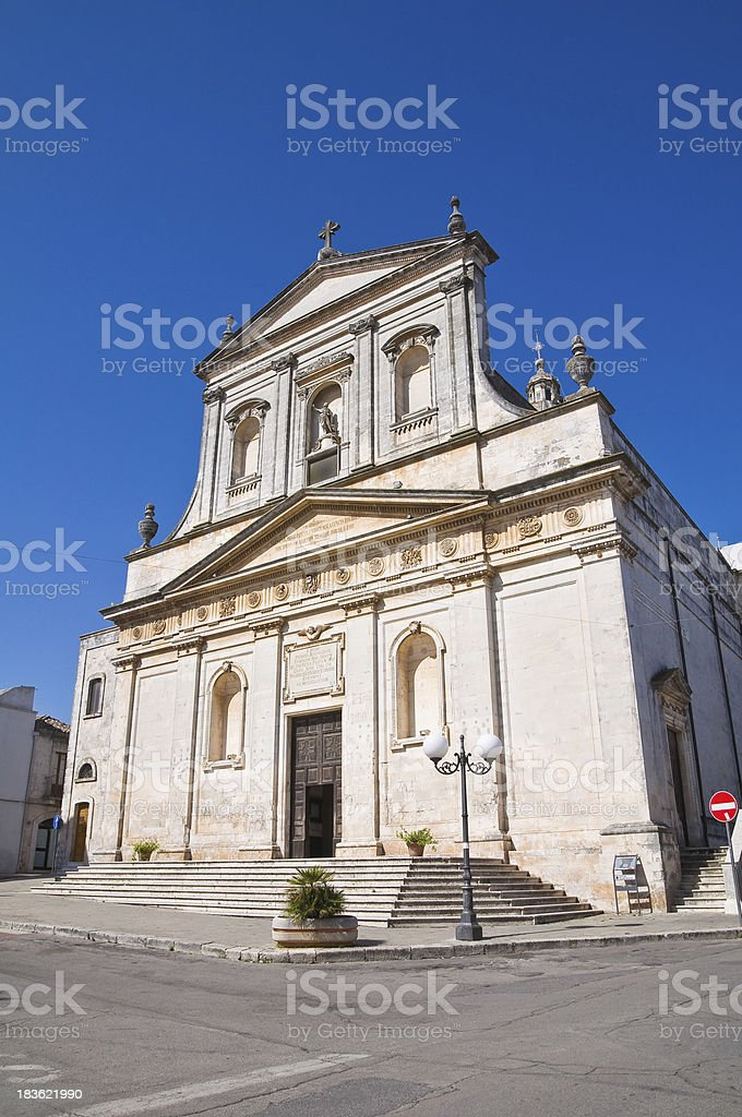 Church of St. Rocco. Ceglie Messapica. Puglia. Italy. royalty-free stock photo