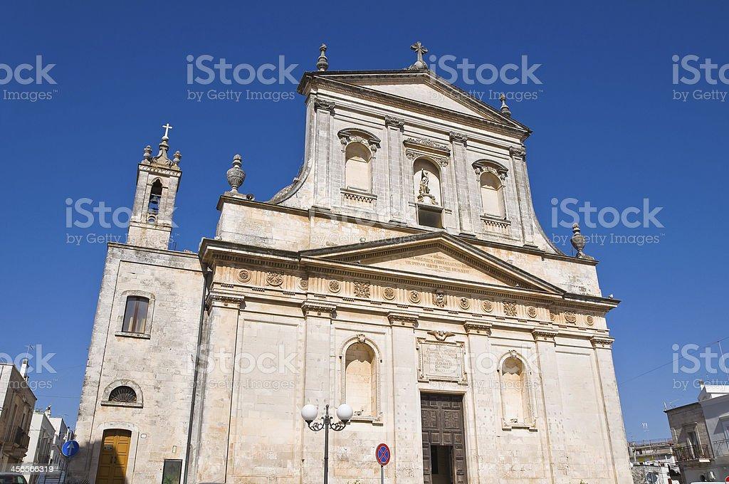 Church of St. Rocco. Ceglie Messapica. Puglia. Italy. stock photo