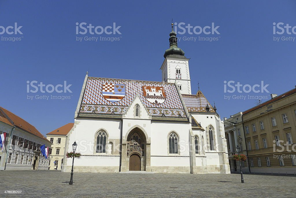 Church of Sts. Make stock photo