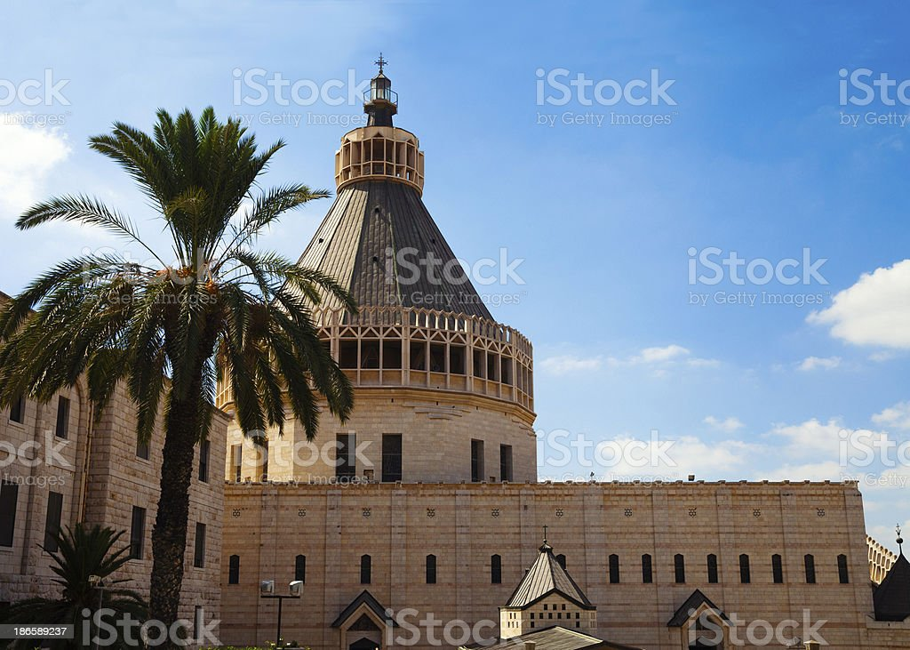 Church of the Annunciation, Nazareth, Israel stock photo