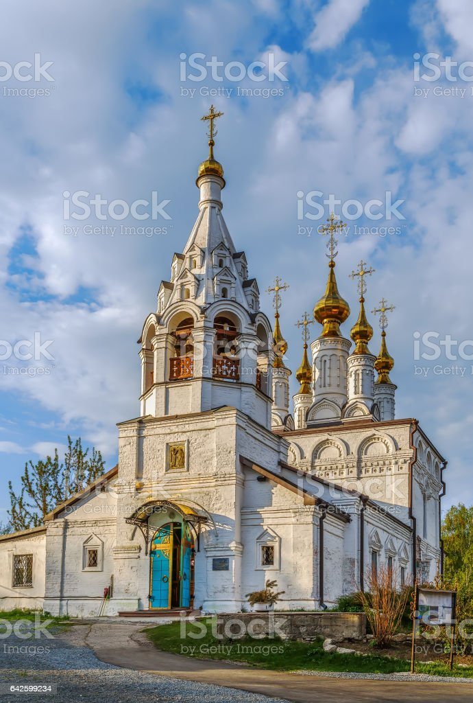 Church of the Annunciation, Ryazan, Russia stock photo