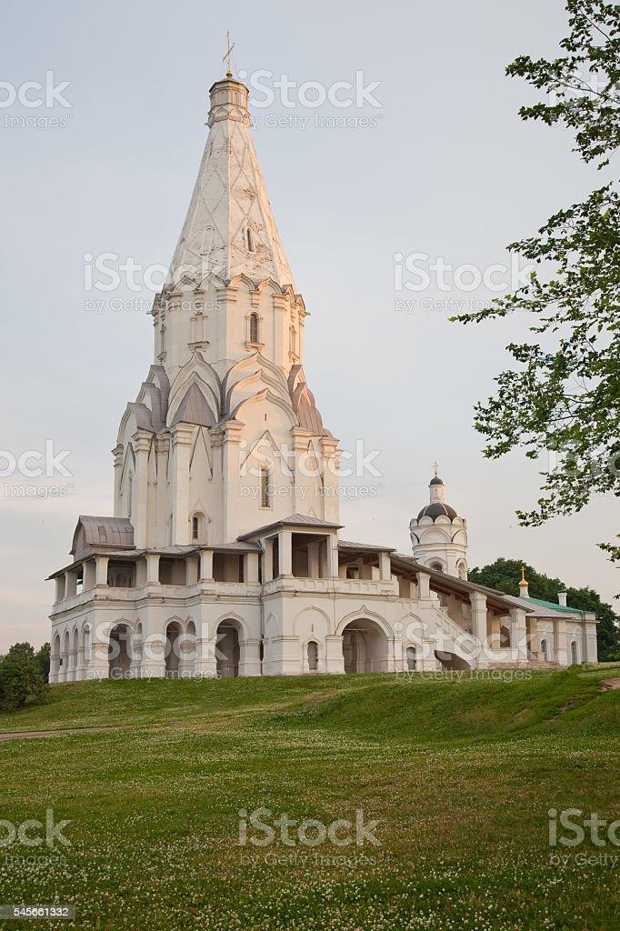 Church of the Ascension in Kolomenskoe. stock photo