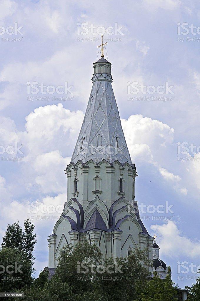 Church of the Ascension, Kolomenskoye royalty-free stock photo