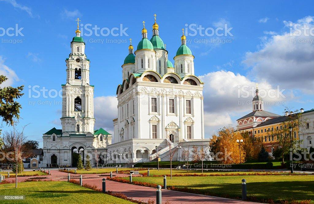 Church of the Assumption. Astrakhan. stock photo