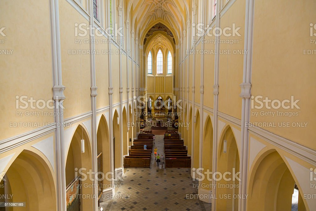Church of the Assumption of Our Lady stock photo