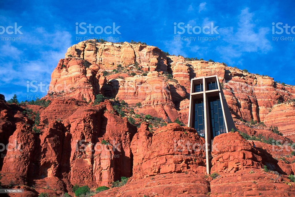 Church of the Cross stock photo