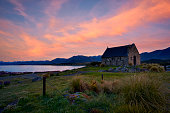 Church Of The Good Shepherd, Lake Tekapo, At Dawn