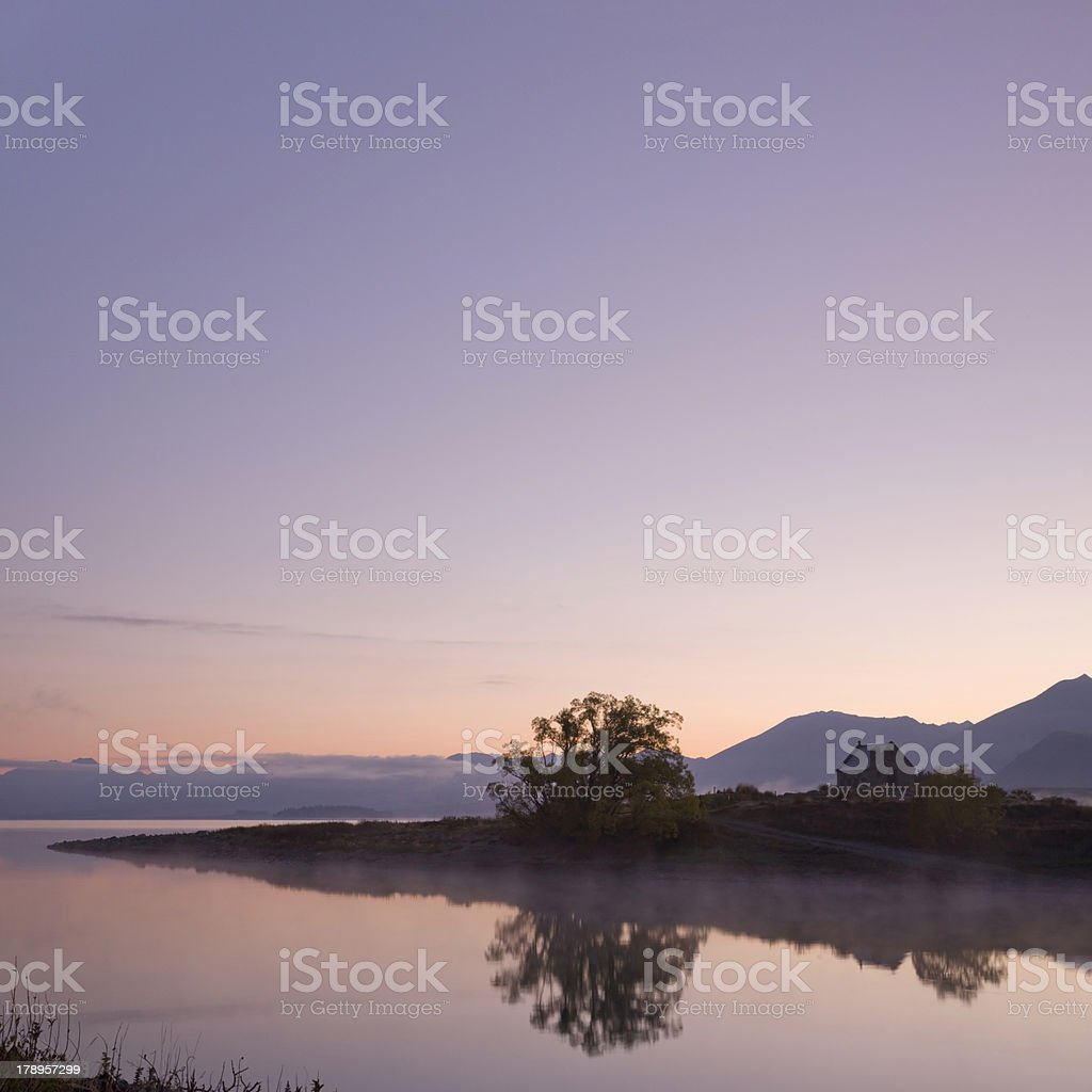'Church of the Good Shepherd, Lake Tekapo, New Zealand' stock photo