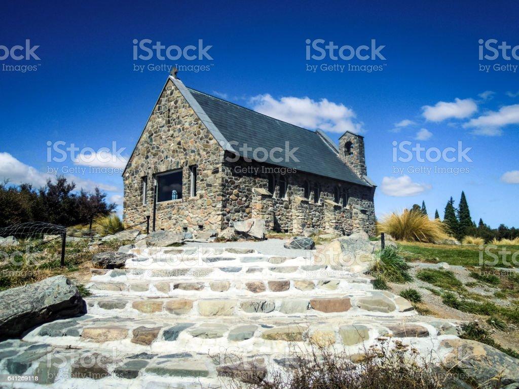 Church of the Good Shepherd, New Zealand - Stock Image stock photo