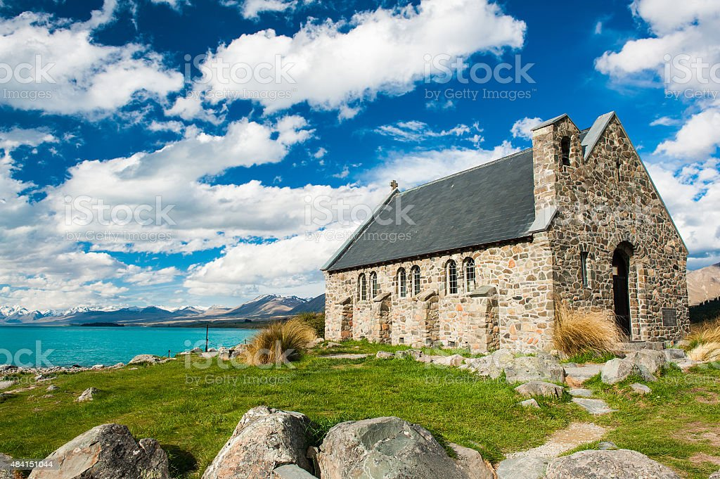 Church of the Good Shepherd stock photo