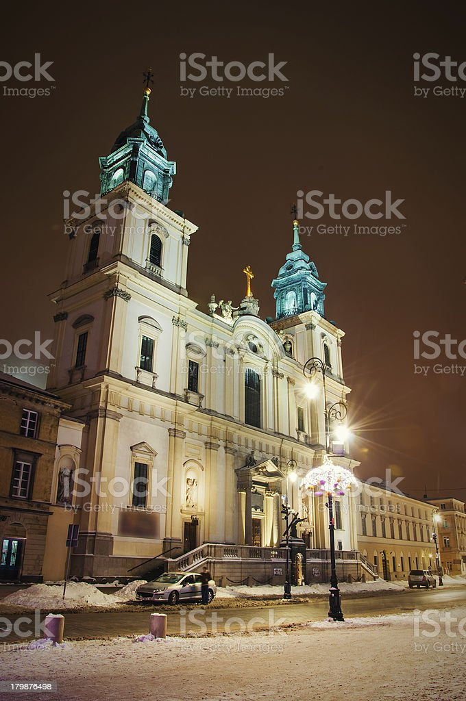 Church of the Holy Cross royalty-free stock photo