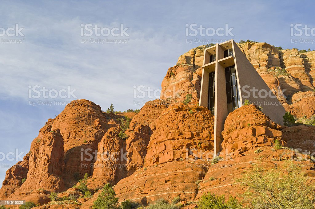 Church of the Holy Cross, Sedona, Arizona royalty-free stock photo