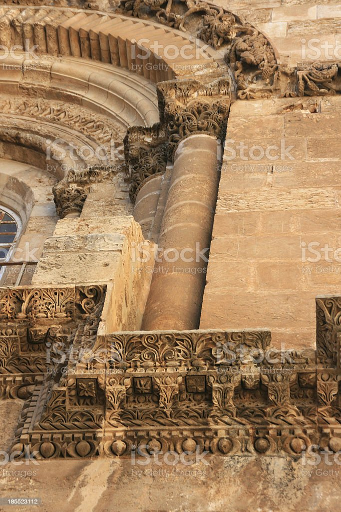 Church of the Holy Sepulchre in Jerusalem, Israel. royalty-free stock photo