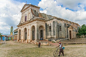 Church of the Holy Trinity in the center of Trinidad