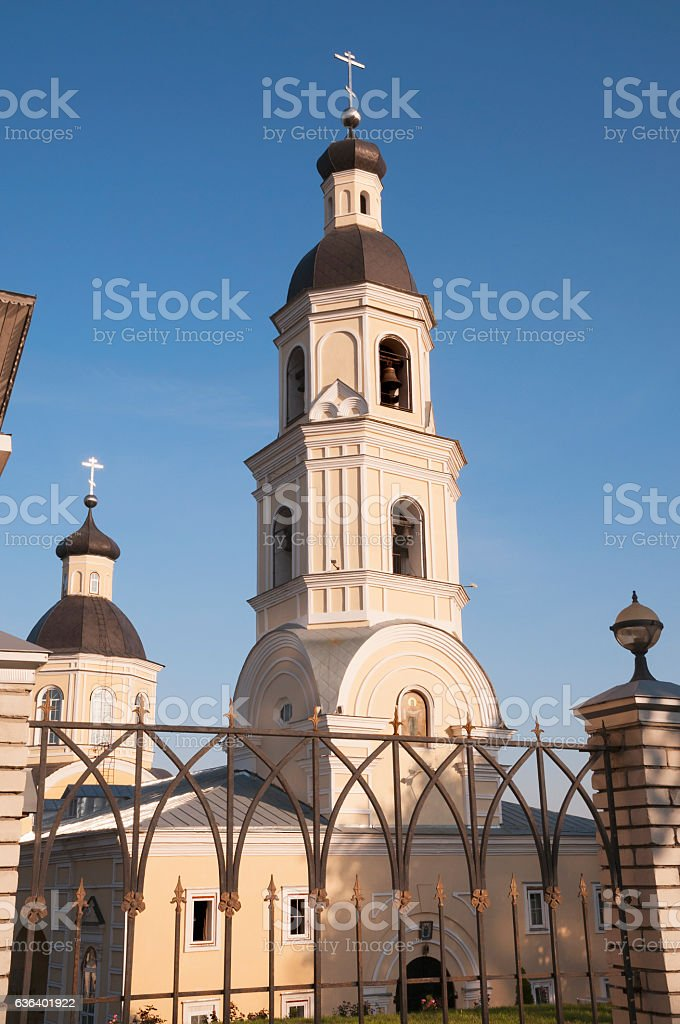 Church of the Intercession of Holy Virgin in  Penza city stock photo
