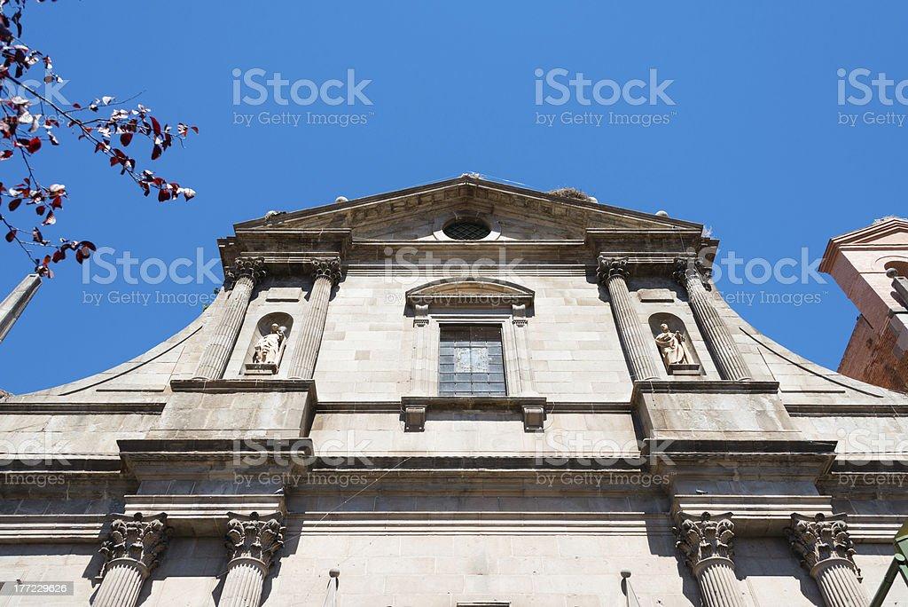 Church of the Jesuits, Alcalá de Henares royalty-free stock photo