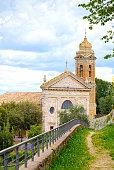 Church of the Madonna del Soccorso in Montalcino