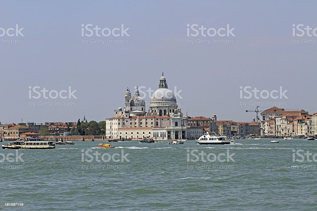 Church of the madonna della salute royalty-free stock photo