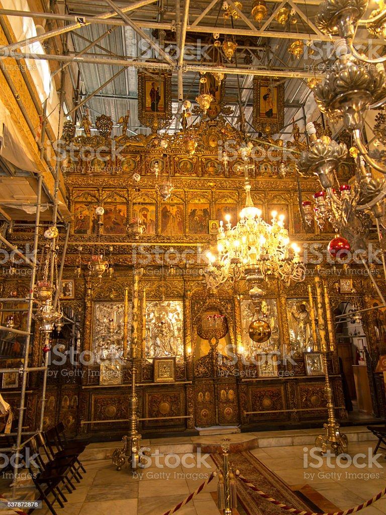 Church of the Nativity.  Bethehem, PA, Israel, stock photo