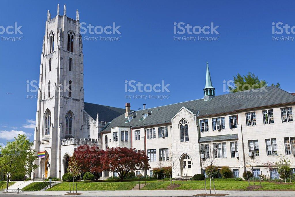 Church of the Pilgrims, Washington DC royalty-free stock photo