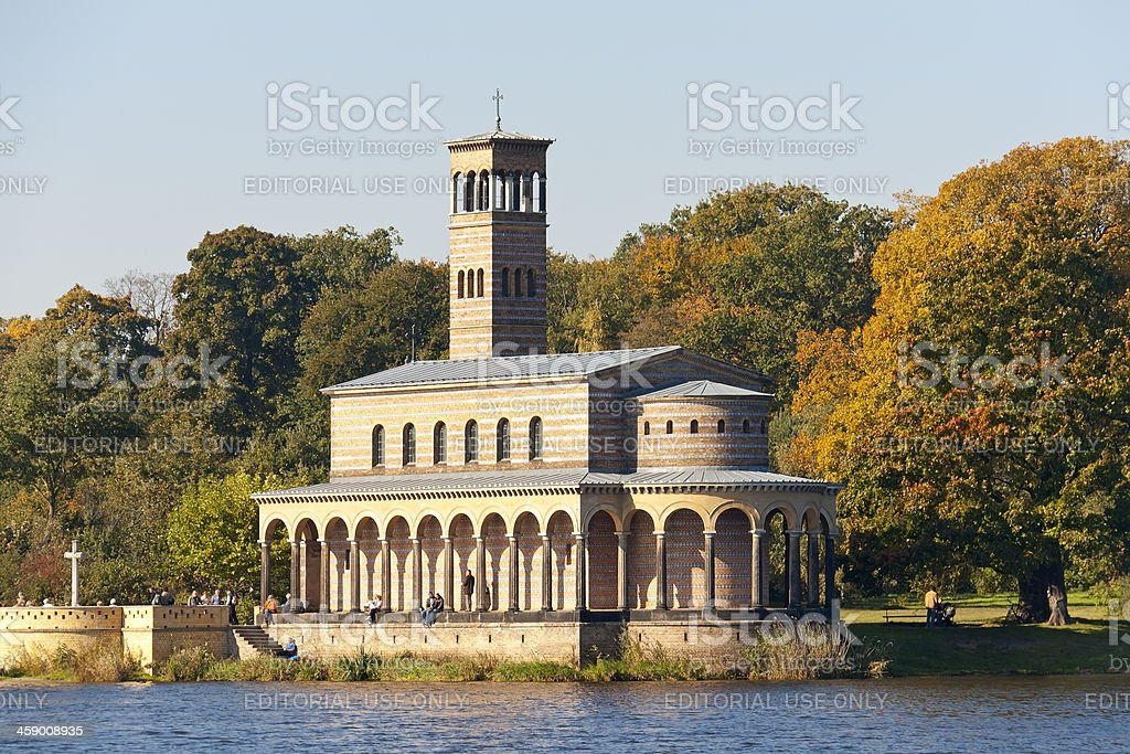 Church of the Redeemer, Potsdam (Sacrow), Germany royalty-free stock photo