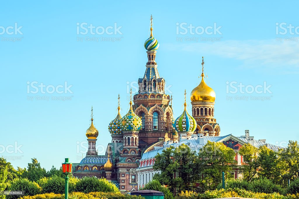 Church of the Resurrection of Christ stock photo
