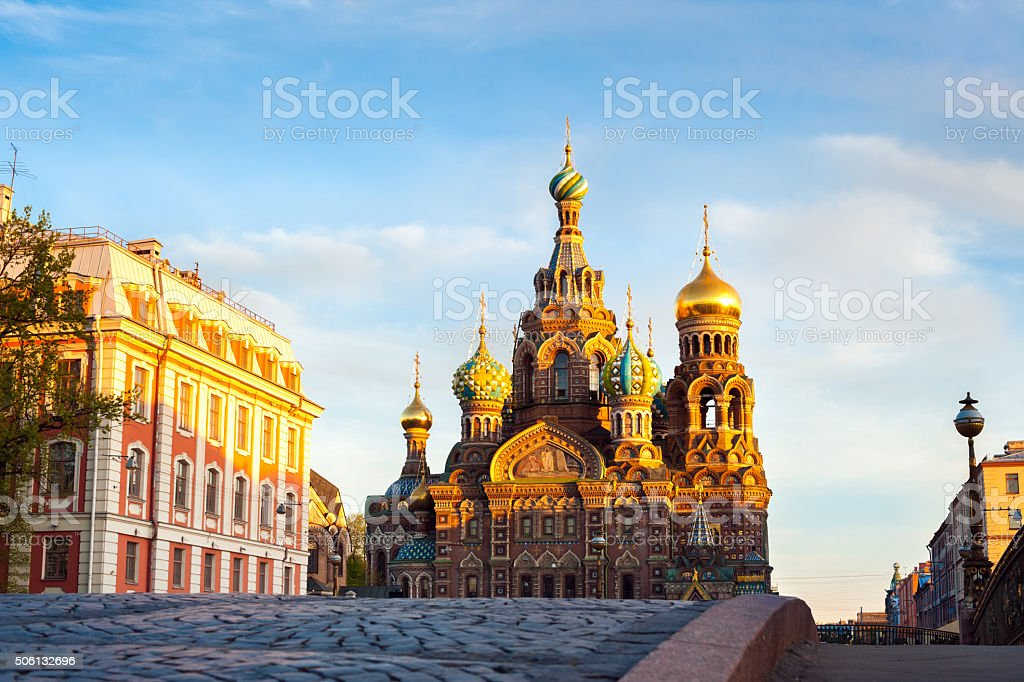 Church of the Resurrection of Christ (Saviour on Spilled Blood), stock photo