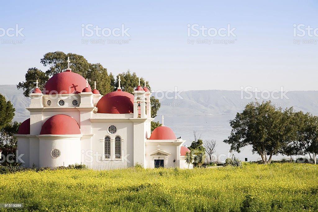 Church Of The Twelve Apostles stock photo