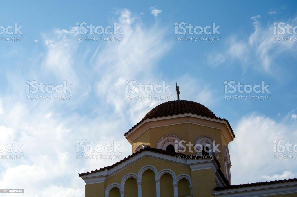 Church of Theotokos Gorgoepikoos stock photo