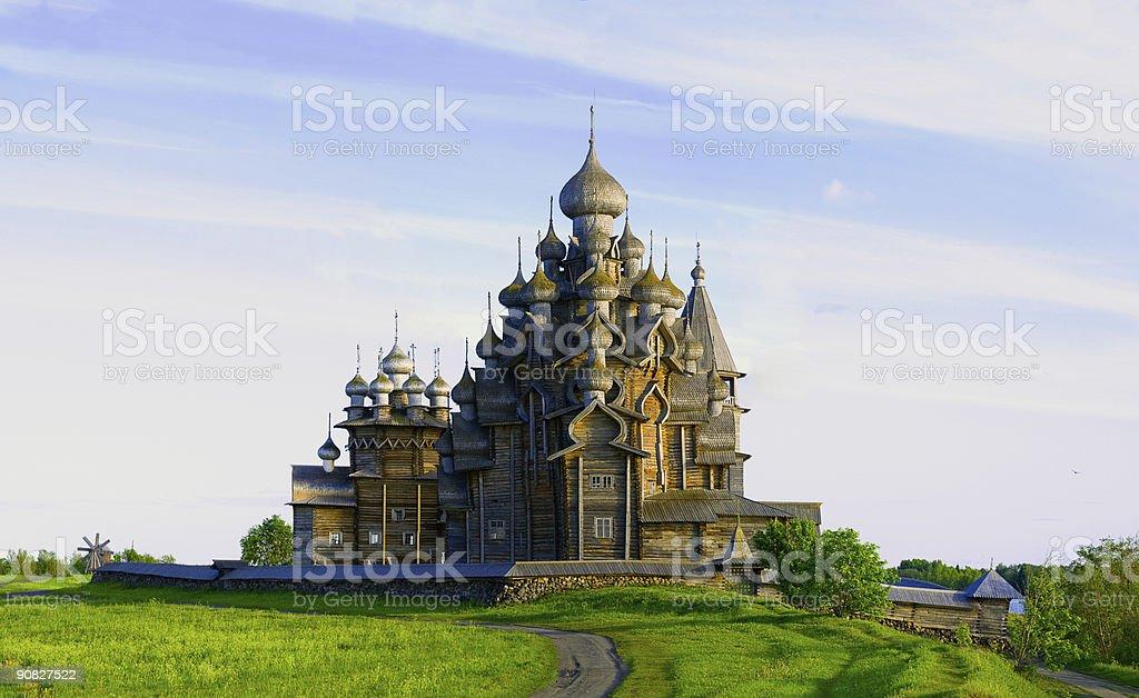 Church of Transfiguration & Intercession stock photo