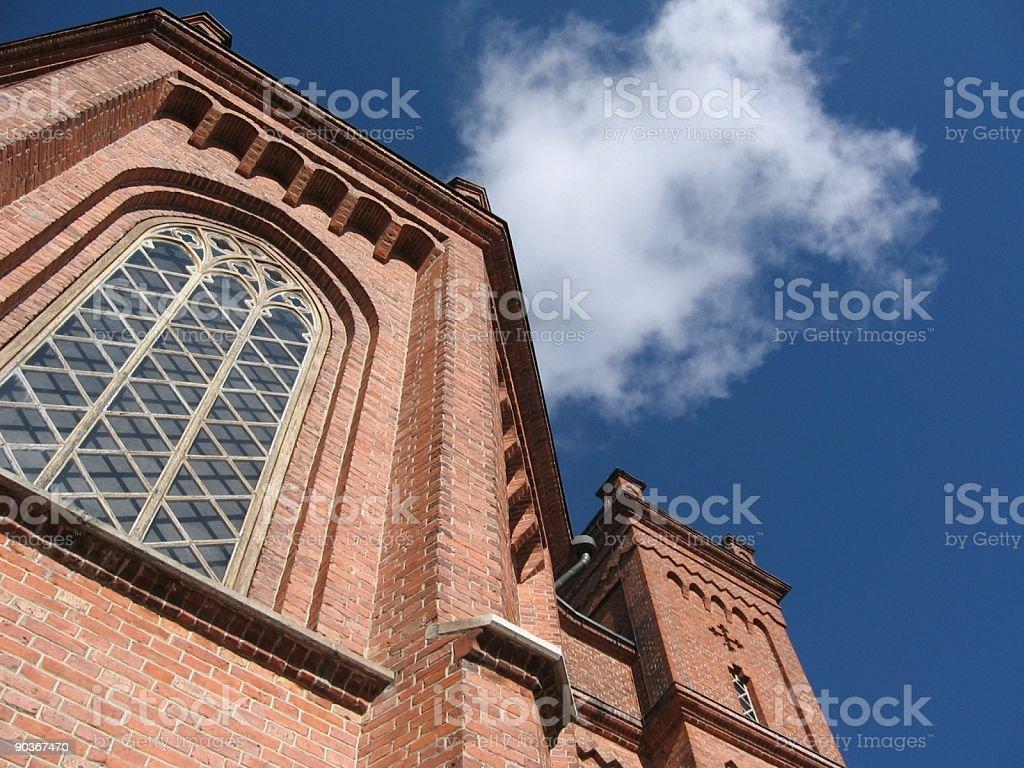 Church of Vaasa royalty-free stock photo