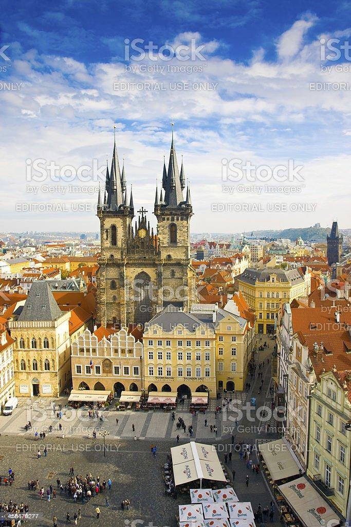 Church of Virgin Maria Before Tyn, Prague, Czech republic royalty-free stock photo