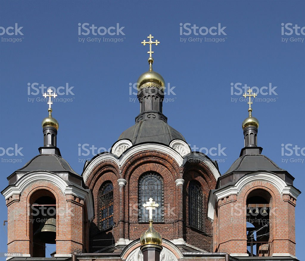 church on sky background royalty-free stock photo