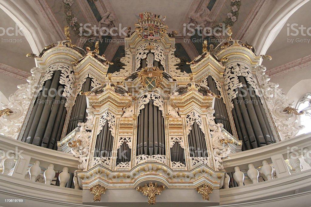 Church Organ royalty-free stock photo