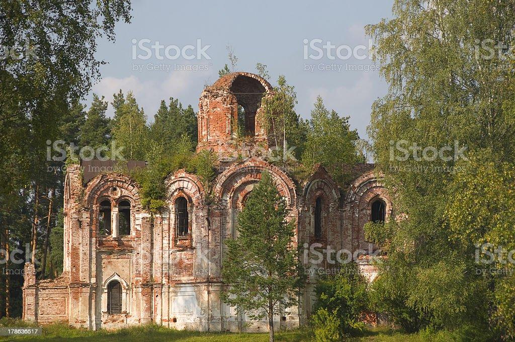 Church Panteleimon stock photo