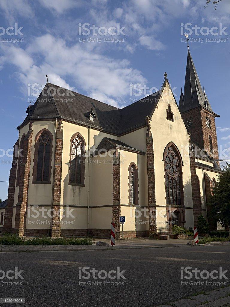 Iglesia foto de stock libre de derechos