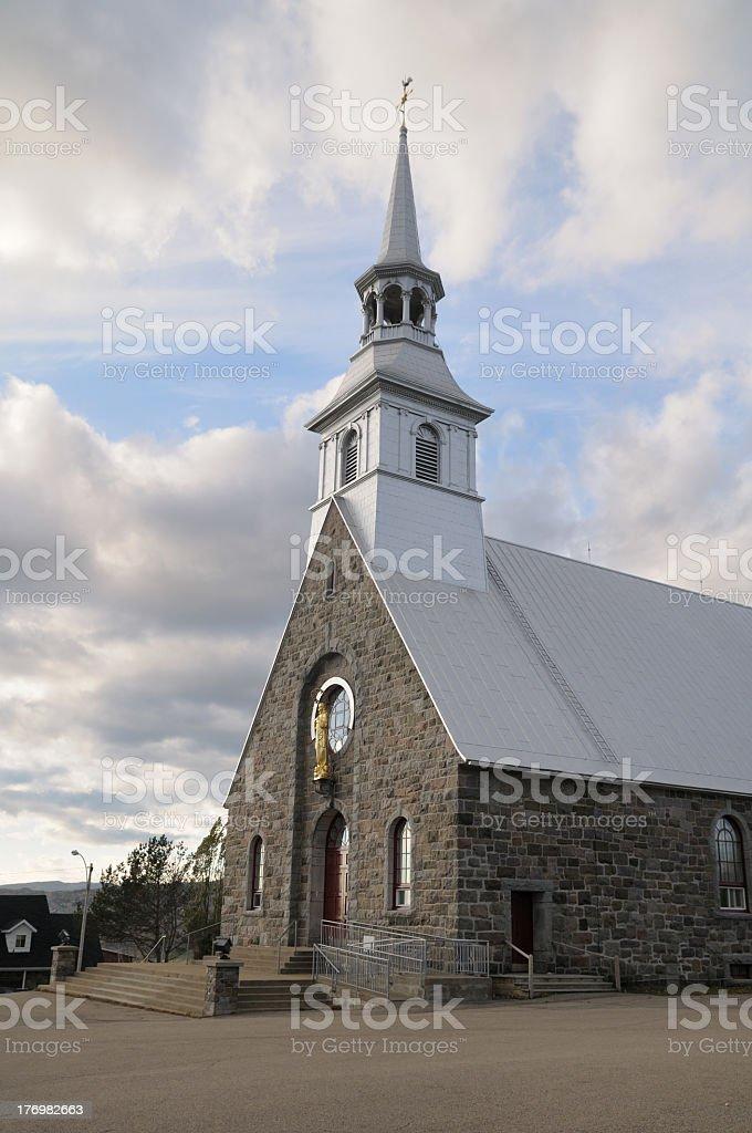 Church royalty-free stock photo