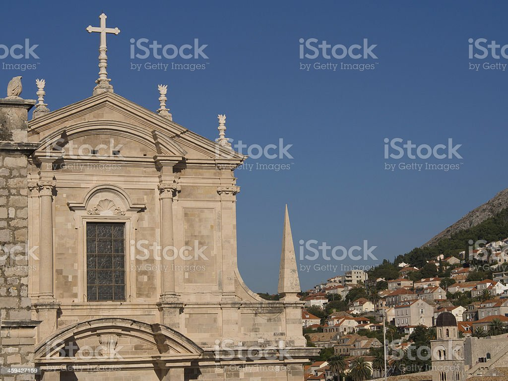 kirche stock photo