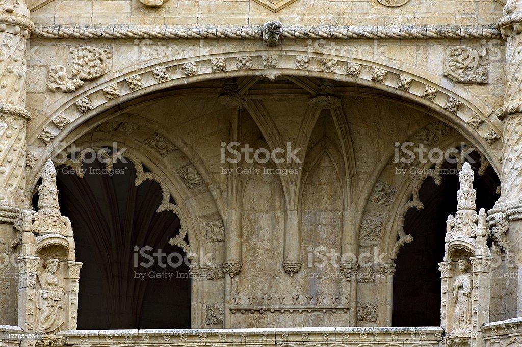 church porch royalty-free stock photo